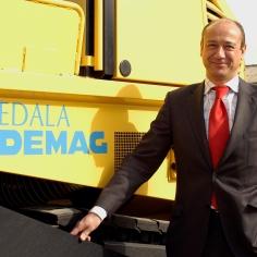 Luis Morral, Consejero Delegado Dynapac Iberia
