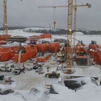 Doka Formwork at Hydroelectric Plant in Icy North