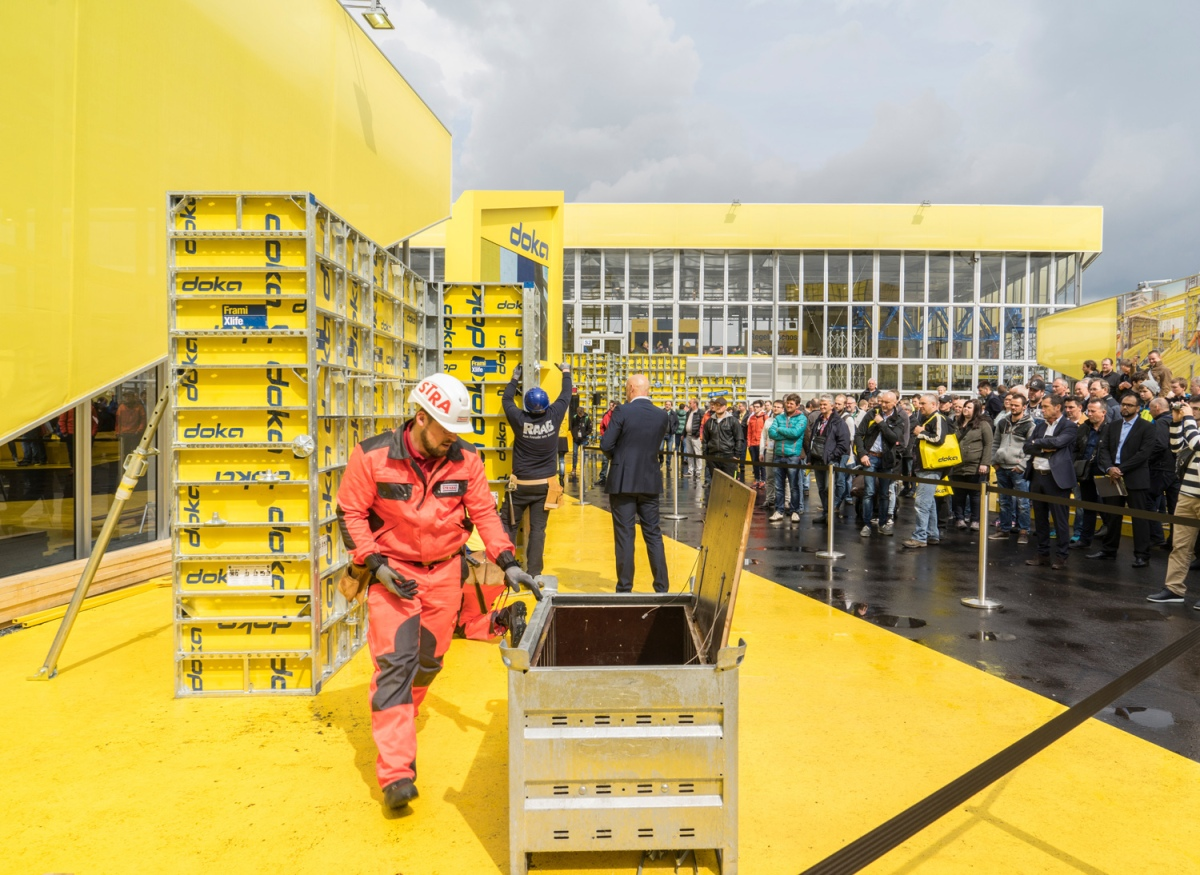 Doka Campus – crowd-puller at bauma 2016