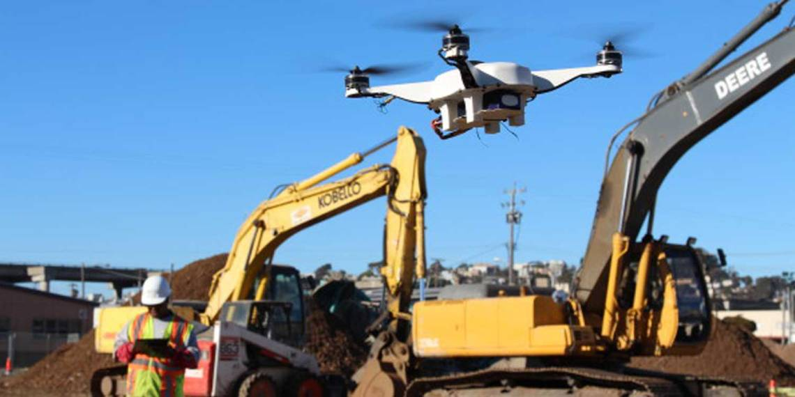 dron construction luis morral