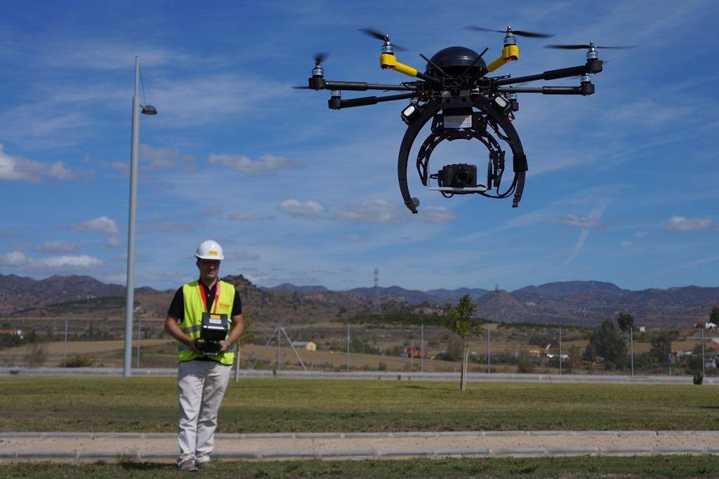 dron construction luís morral