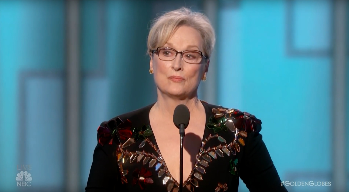 Meryl Streep: Teaching Leadership at Film Awards