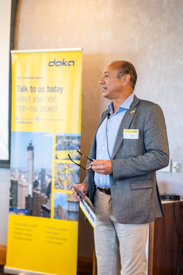 Luís Morral Managing Director of DOKA UK and DOKA Ireland