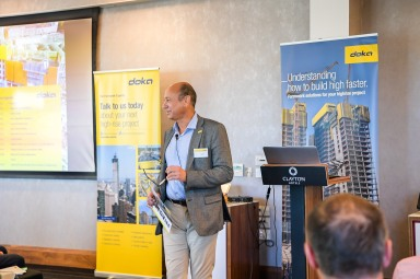 Luís Morral Managing Director of DOKA UK and DOKA Ireland