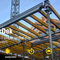 SuperDek: Fast, safe and simple handset drop head slab system